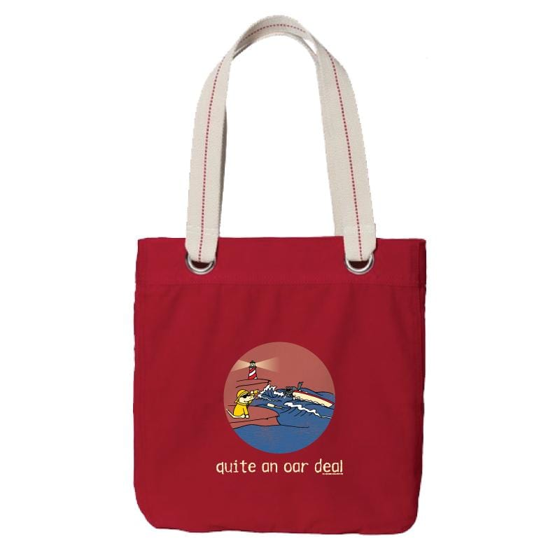 Quite An Oar Deal - Canvas Tote