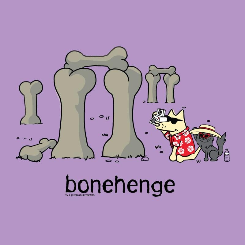 Bonehenge - Ladies T-Shirt V-Neck