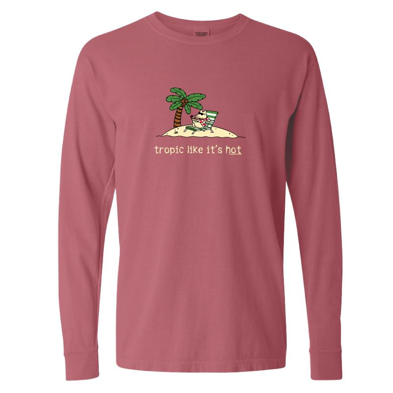 Tropic Like It's Hot - Classic Long-Sleeve T-Shirt