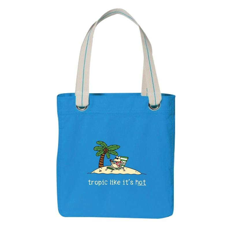 Tropic Like It's Hot - Canvas Tote