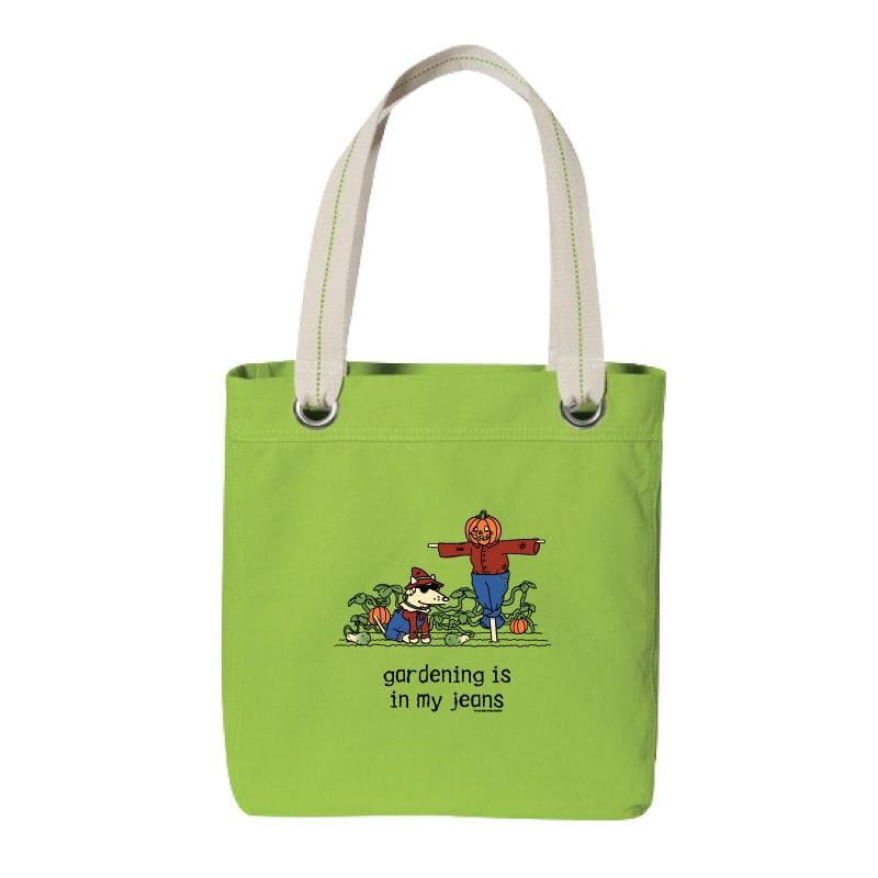 Gardening Is In My Jeans - Canvas Tote