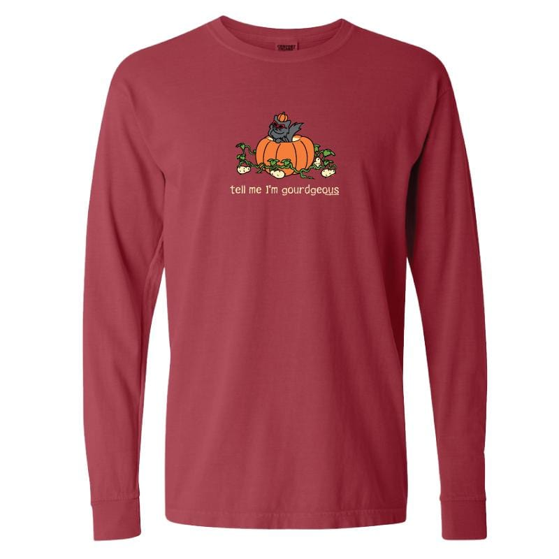 Tell Me I'm Gourdgeous - Long-Sleeve T-Shirt Classic