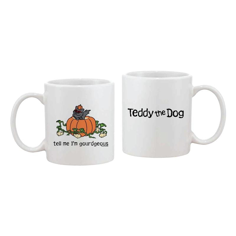 Tell Me I'm Gourdgeous - Coffee Mug
