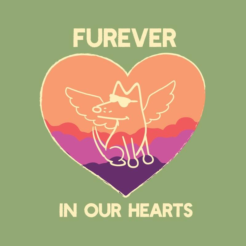 Furever In Our Hearts - Lightweight Tee