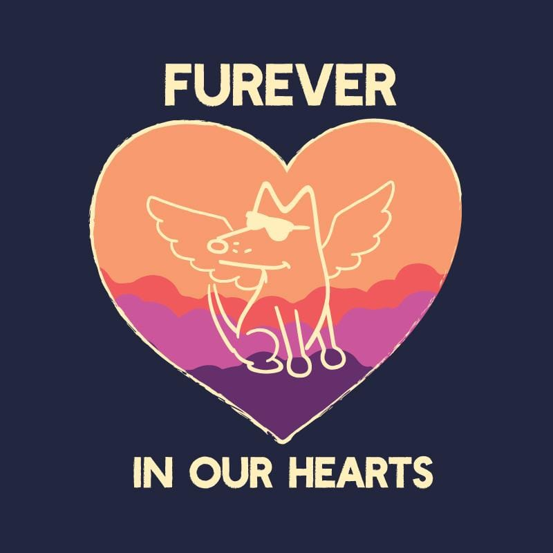 Furever In Our Hearts - Ladies T-Shirt V-Neck