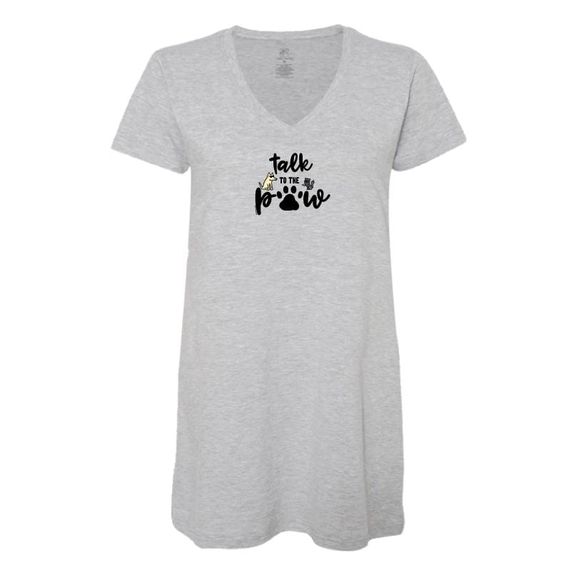 Talk To The Paw - Ladies Night T-Shirt
