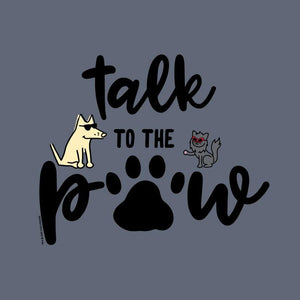 Talk To The Paw - Classic Long-Sleeve T-Shirt
