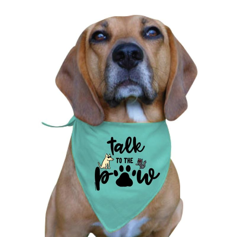 Talk To The Paw - Doggie Bandana