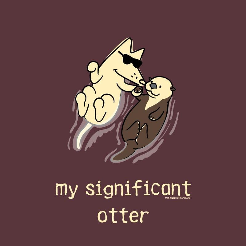 My Significant Otter - Long-Sleeve Hoodie T-Shirt