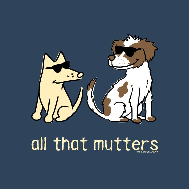 All That Mutters - Ladies T-Shirt V-Neck