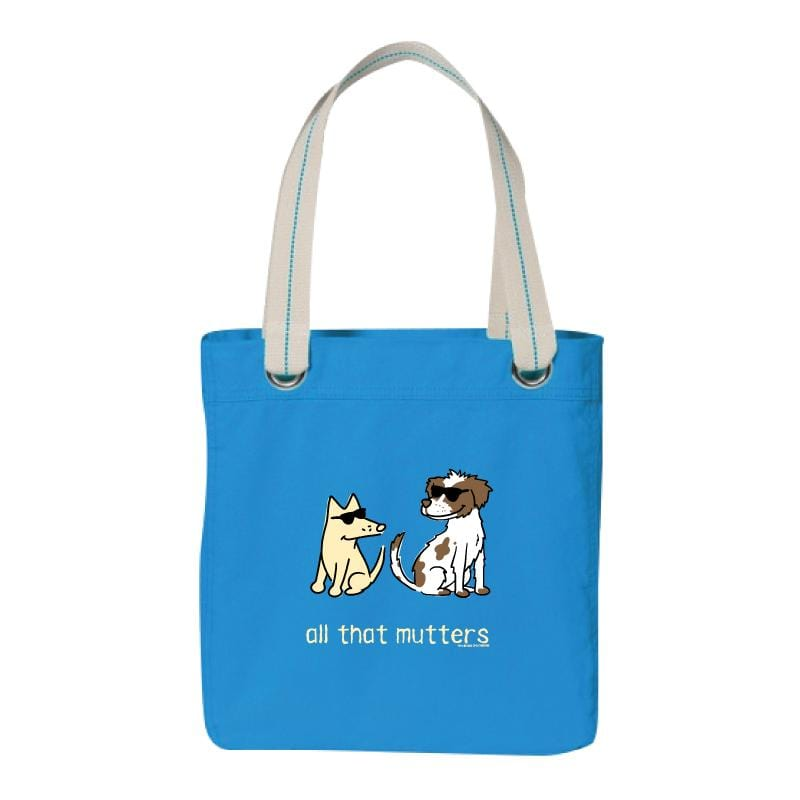 All That Mutters - Canvas Tote