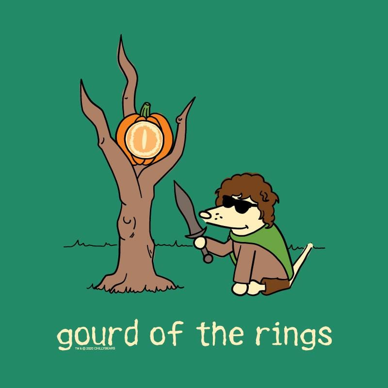 Gourd Of The Rings - Ladies T-Shirt V-Neck