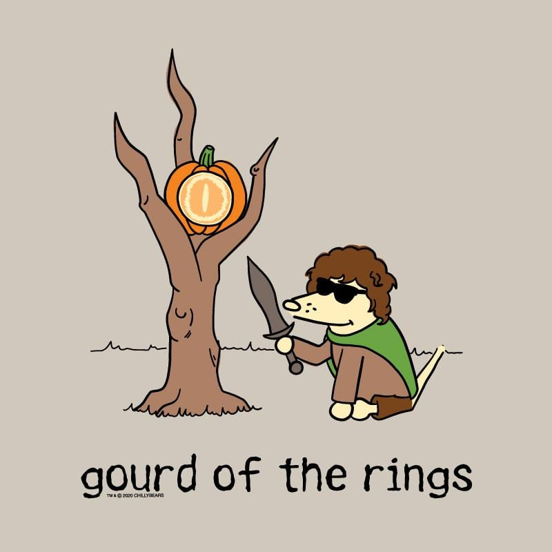 Gourd Of The Rings - Ladies Long-Sleeve T-Shirt