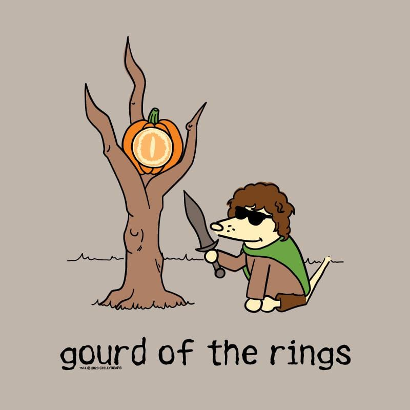 Gourd Of The Rings - Ladies Curvy V-Neck Tee