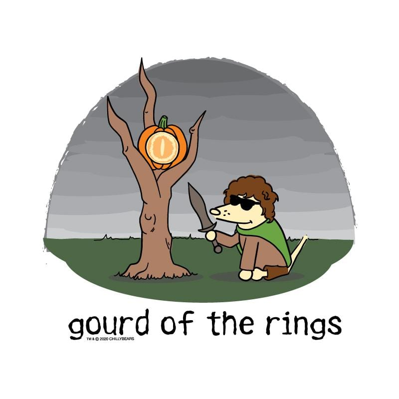 Gourd Of The Rings - Coffee Mug