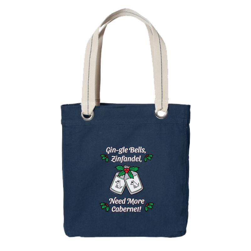 Gin-gle Bells - Canvas Tote