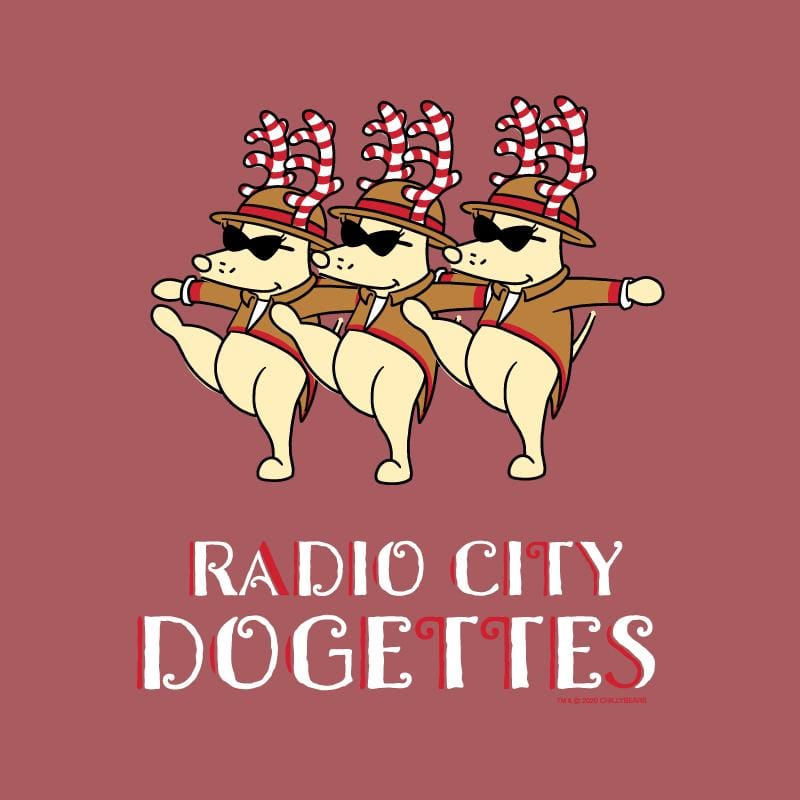 Radio City Dogettes - Lightweight Tee