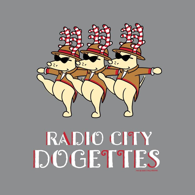 Radio City Dogettes - Long-Sleeve Hoodie T-Shirt