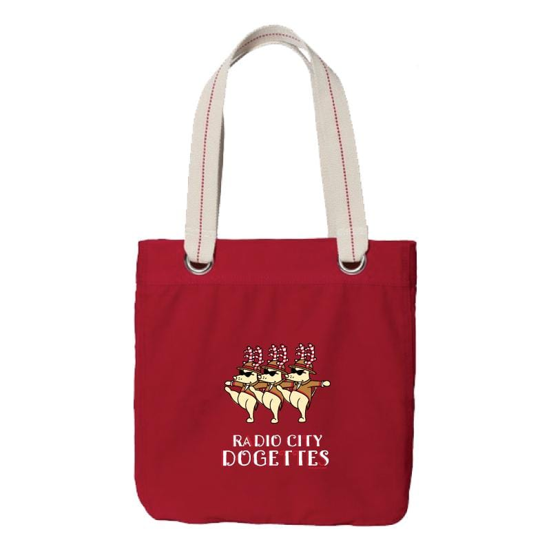 Radio City Dogettes - Canvas Tote