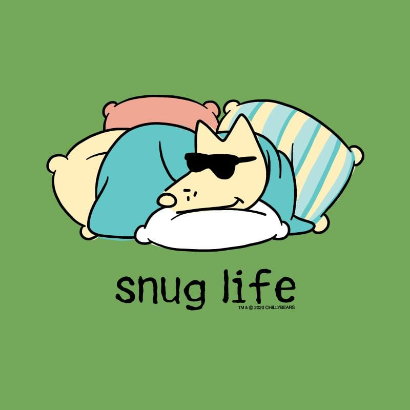 Snug Life - Ladies T-Shirt V-Neck