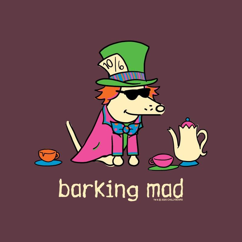 Barking Mad - Ladies T-Shirt V-Neck