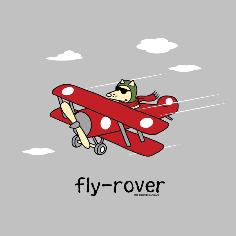 Fly-Rover - Lightweight Tee