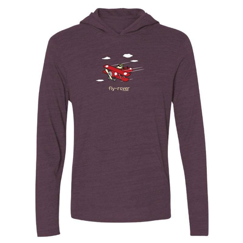 Fly-Rover - Long-Sleeve Hoodie T-Shirt