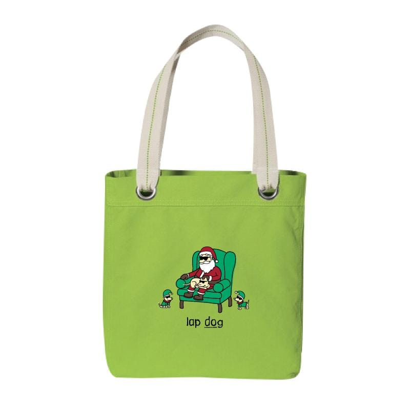 Lap Dog - Canvas Tote
