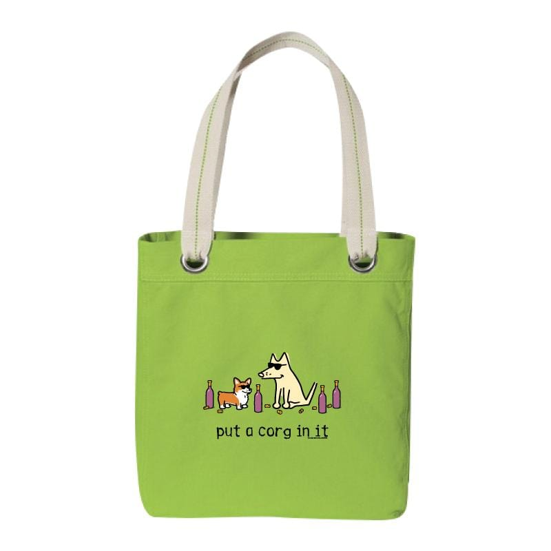 Put A Corg In It - Canvas Tote