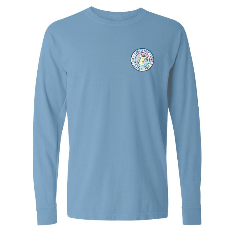 Pastel Circle Choose Love - Classic Long-Sleeve T-Shirt