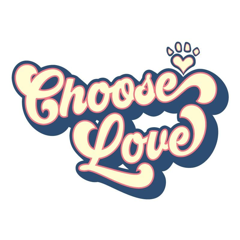 Groovy Choose Love - Coffee Mug
