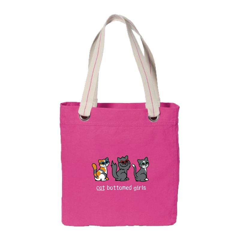 Cat Bottomed Girls - Canvas Tote