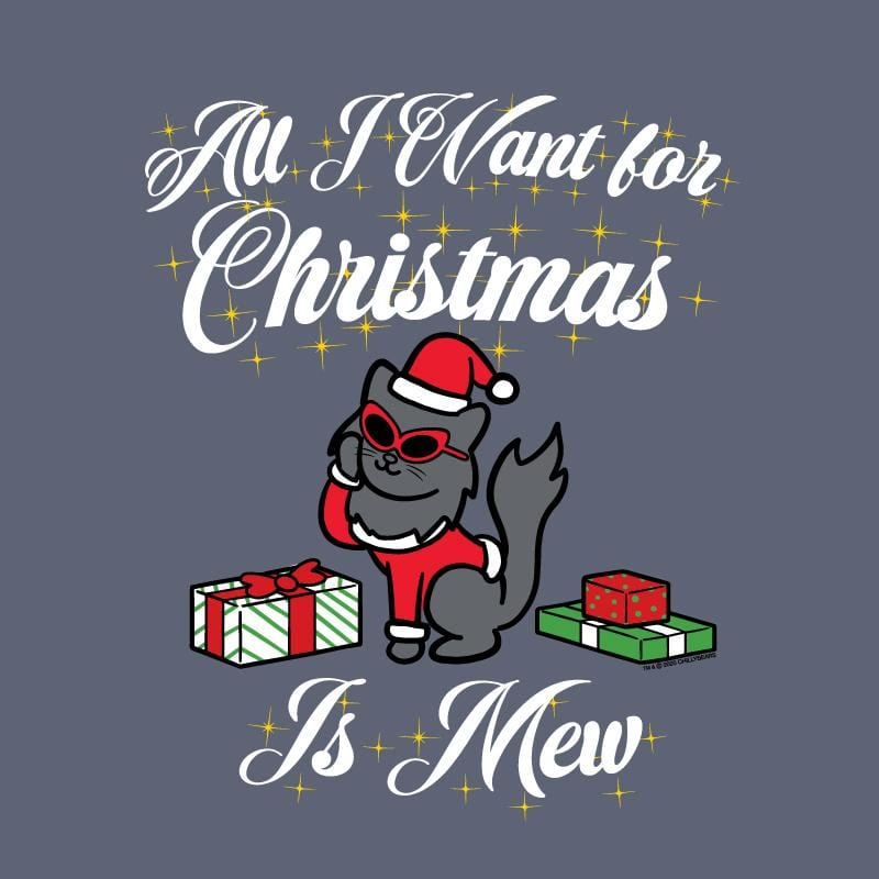All I Want For Christmas Is Mew  - Classic Long-Sleeve T-Shirt