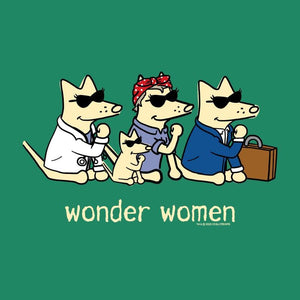 Wonder Women - Ladies T-Shirt V-Neck