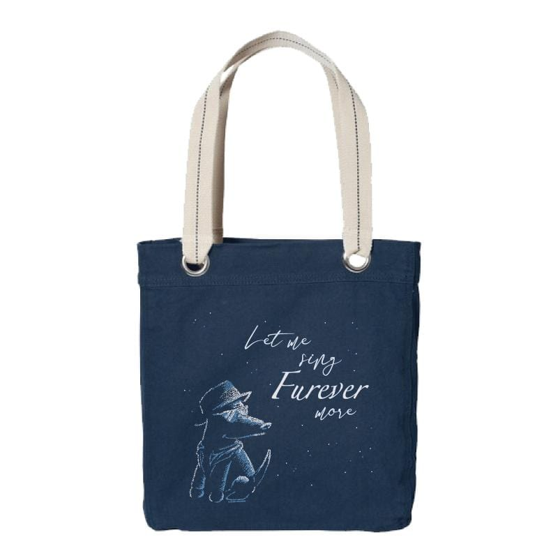 Let Me Sing Furever More - Canvas Tote