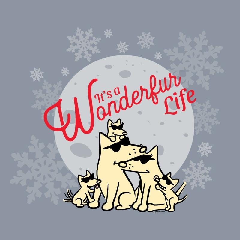 It's A Wonderfur Life - Lightweight Tee