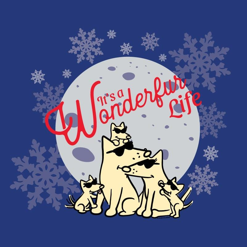 It's A Wonderfur Life - Ladies Long-Sleeve T-Shirt