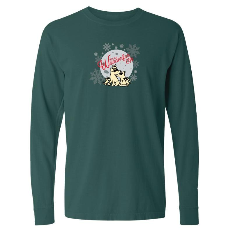It's A Wonderfur Life - Classic Long-Sleeve T-Shirt