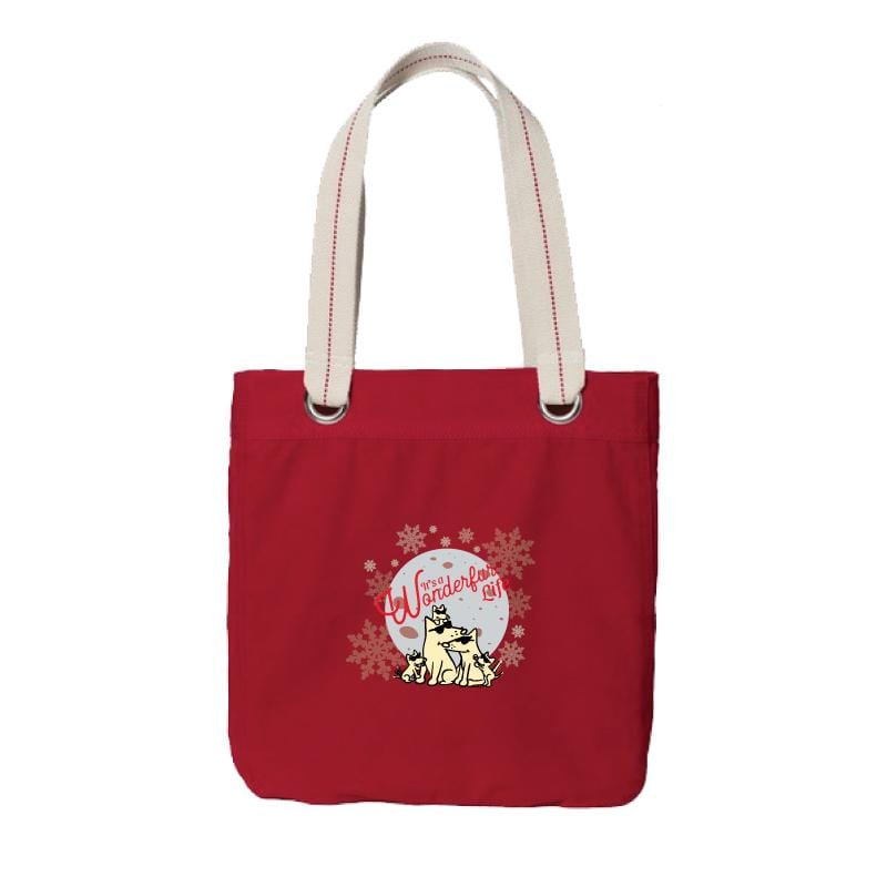 It's A Wonderfur Life - Canvas Tote