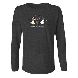 Sexy And I Snow It - Ladies Long-Sleeve T-Shirt