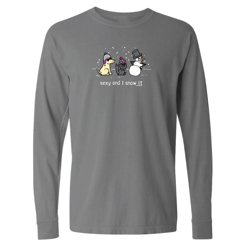 Sexy And I Snow It - Classic Long-Sleeve T-Shirt