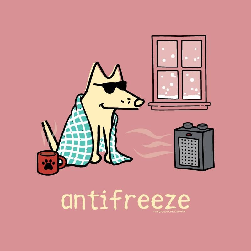 Antifreeze - Ladies T-Shirt V-Neck