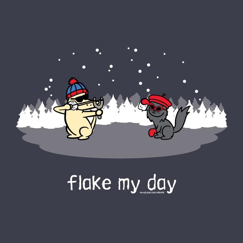 Flake My Day - Classic Long-Sleeve T-Shirt