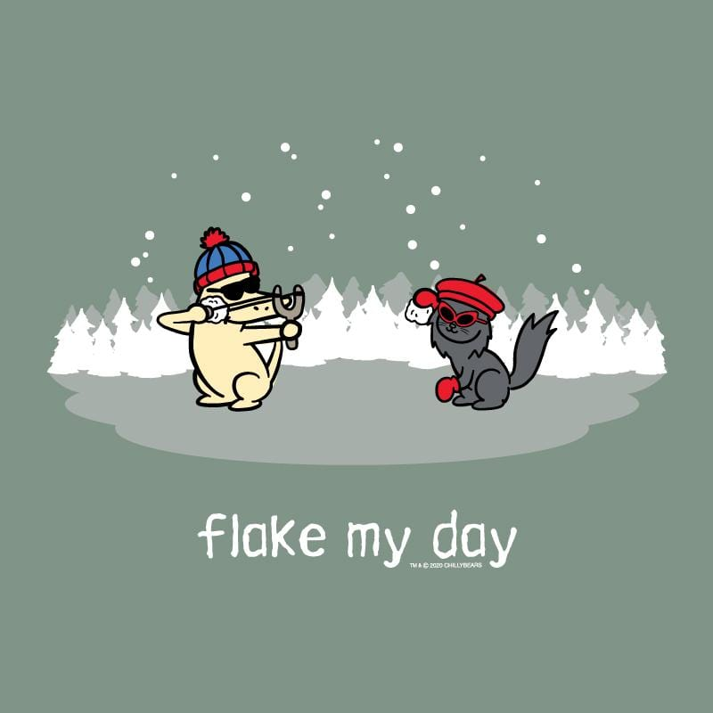 Flake My Day - Crew Neck Sweatshirt