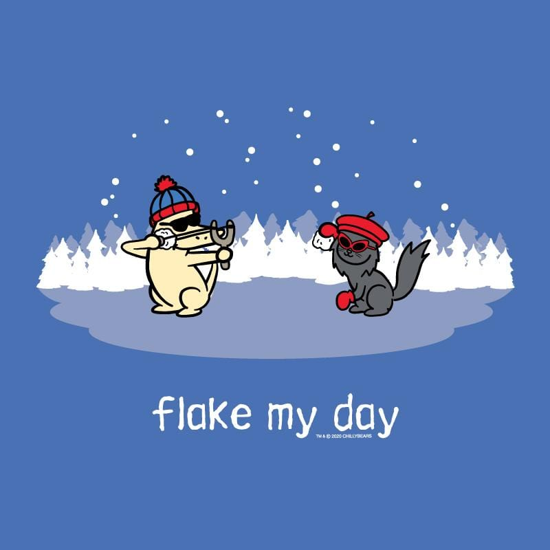 Flake My Day - Lightweight Tee