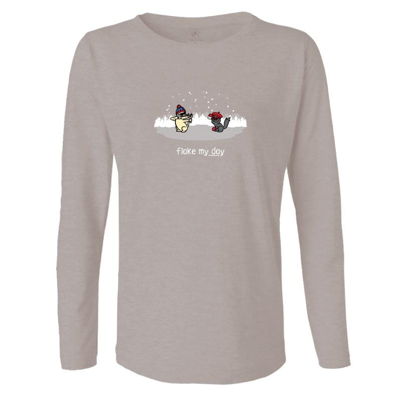 Flake My Day - Ladies Long-Sleeve T-Shirt
