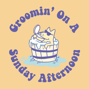 Groomin' On A Sunday Afternoon - Sweatshirt Pullover Hoodie