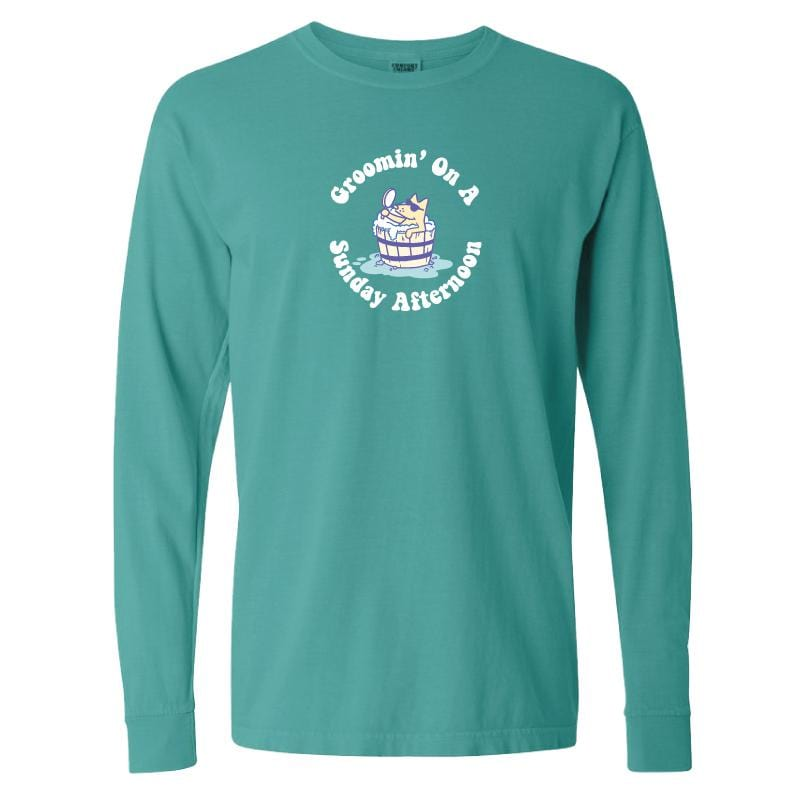 Groomin' On A Sunday Afternoon - Classic Long-Sleeve T-Shirt