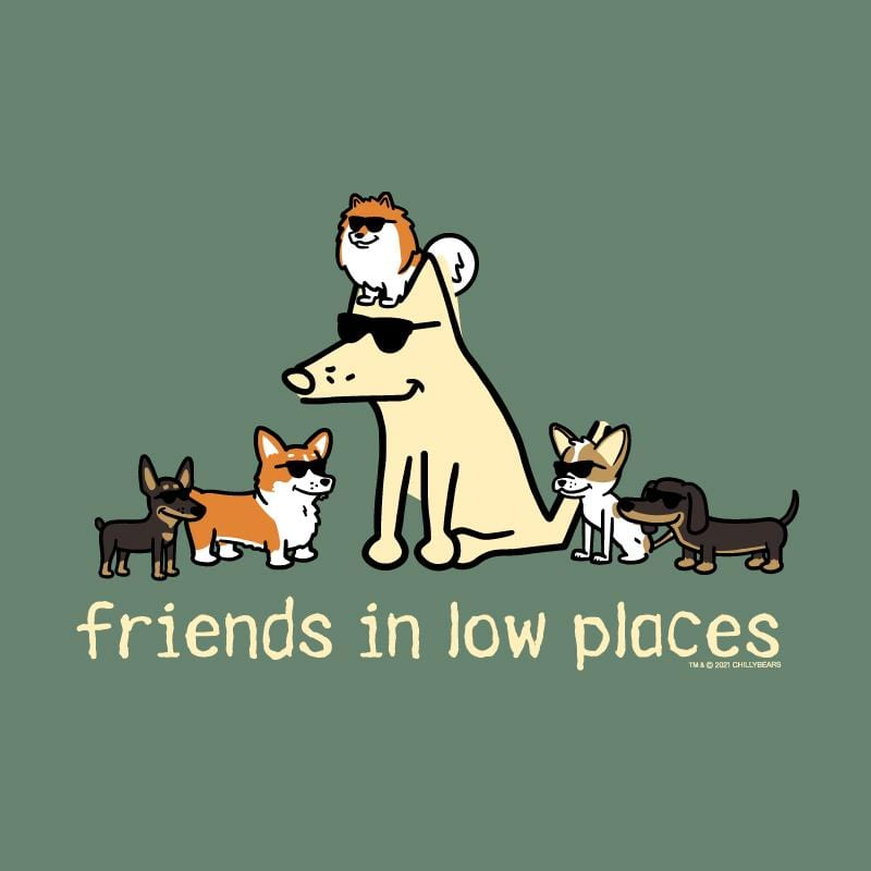 Friends In Low Places - Classic Tee