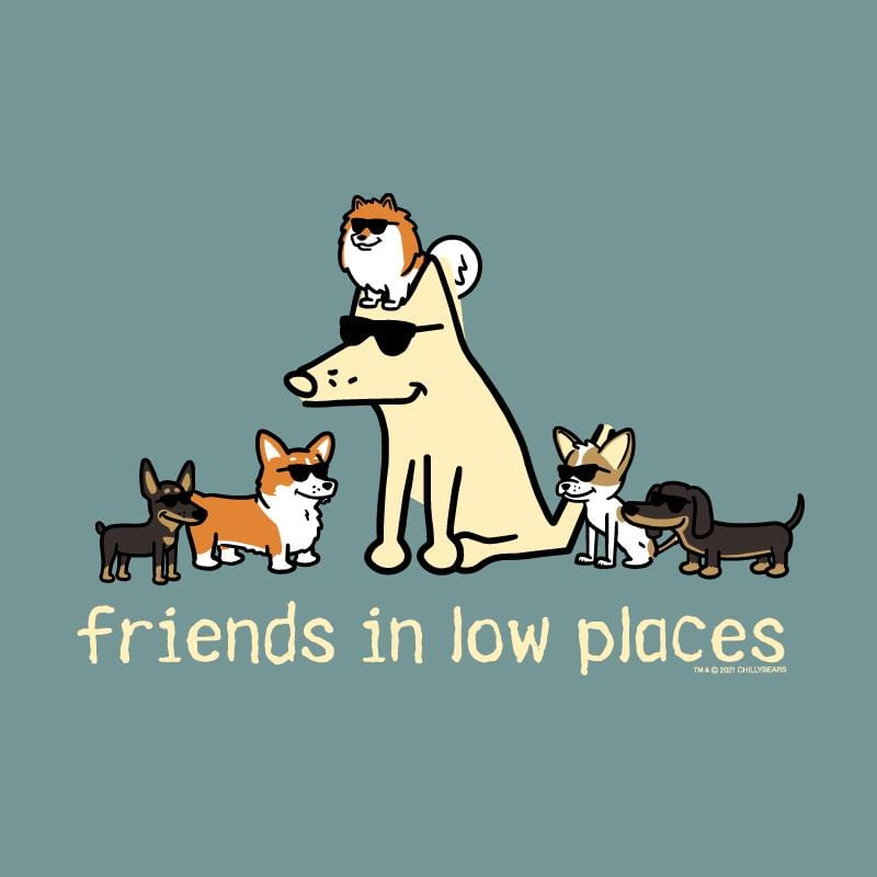 Friends In Low Places - Sweatshirt Pullover Hoodie
